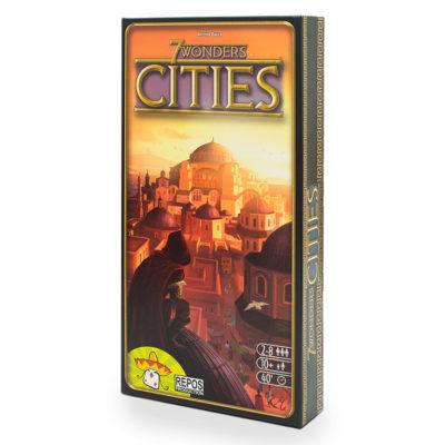 """Настольная игра """"7 Чудес: Города"""""""