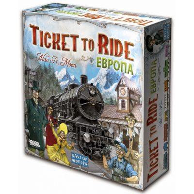 Настольная игра «Ticket to Ride: Европа (3-е издание)»
