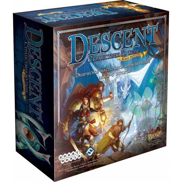 Настольная игра «Descent. Странствия во Тьме (вторая редакция)»
