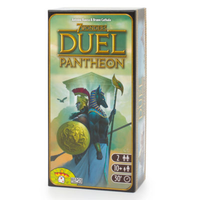 """Настольная игра """"7 Чудес Дуэль: Пантеон"""""""