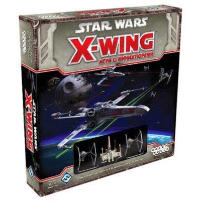"""Настольная игра """"Star Wars. X-Wing. Базовая игра"""""""